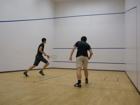 2 Squashspieler