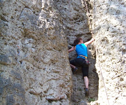 Angetestet: Klettern
