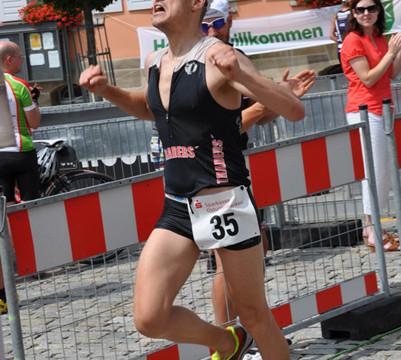 So fühlt sich ein Triathlon-Sieg an