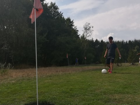 Test: Fussball-Golf