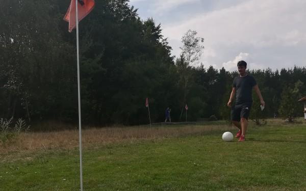 Test: Fussball-Golf